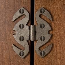 gothic cast iron hinge hardware