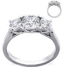 Circle Diamond Wedding Ring by Best 25 Round Diamond Ring Ideas On Pinterest Round Cut