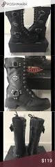 black moto boots nib harley davidson black moto boots eda new in box harley