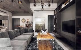 Living Room Pendant Lighting Living Room Industrial Style Table Industrial Living Room Design