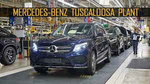 mercedes alabama plant mercedes production at the tuscaloosa plant alabama