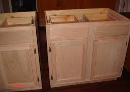 brown wooden unfinished kitchen cabinet unfinished kitchen
