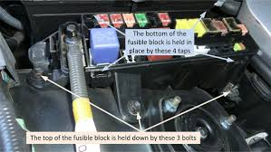 lexus ct200h fuse box 2003 ls430 replace 80amp fusible link clublexus lexus forum
