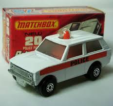 land rover matchbox matchbox superfast no 20 police patrol range rover diecastinvestor