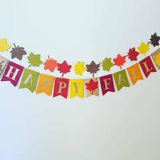 thanksgiving banner fall birthday banner fall decor happy fall