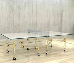 ping pong table cost thorough glass ping pong table at lifeix design for only picture