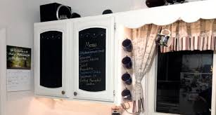 Kitchen Cabinets Chalk Paint by Diy Kitchen Cabinet Makeover Chalkboard Paint Love My Diy Home
