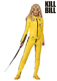Motorcycle Rider Halloween Costume Kill Bill Beatrix Kiddo Motorcycle Suit Women