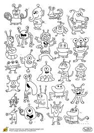 23 monsters images monster activities