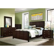 Bedroom Furniture Manufacturer Ratings Mosaic King Bed Dark Brown Value City Furniture