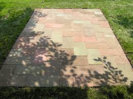 How To Design A Patio by Building An Effective And Beautiful Patio With Reclaimed Brick