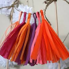 online buy wholesale tissue paper tassel garland from china tissue