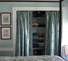 How To Remove A Sliding Closet Door Closet Closet Door Ideas Replacing Closet Door With Curtain