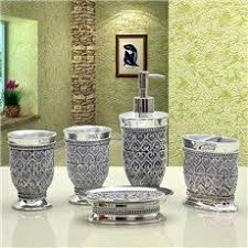 Matching Bathroom Accessories Sets Buy Colourmatch Bathroom Accessories Set Spots At Argos Co Uk