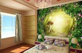 chambre theme une chambre pour enfant à thème forêt deco in