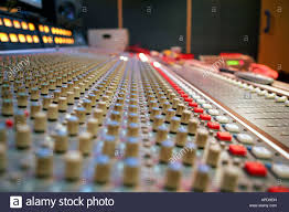 Studio Mixing Desks by Recording Studio Mixing Desk Stock Photo Royalty Free Image