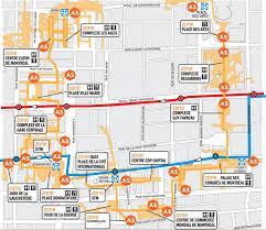 map underground montreal underground city map