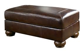 Large Ottoman Storage Bench by Ottoman Simple Stacey Leather Ottoman From Macys Brown