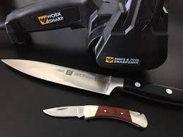 folding knife sharpening