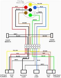 wiring diagrams 6 wire trailer plug seven pin 4 extraordinary