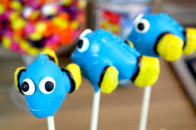 how to make finding dory cake pops carlytoffle youtube