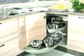 cuisine meuble d angle rangement d angle cuisine rangement coulissant 2 paniers pour meuble