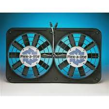 flex a lite electric fan kit flex a lite low profile electric fans 210 free shipping on orders