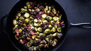 crispy bacon brussels sprouts munchies