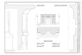 file fireplace details mantel profile and chair rail and