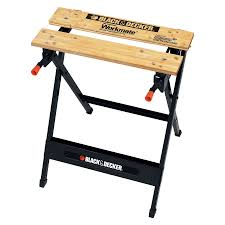 Black And Decker Firestorm Table Saw Shop Black U0026 Decker 5 01 In W X 29 75 In H Wood Work Bench At