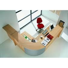 banque de bureau banque d accueil reception bois angle alu mobilier de bureau