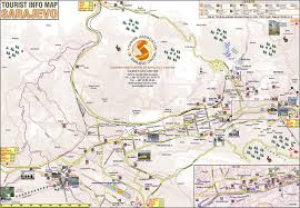 Bosnia Map Map Of Sarajevo Bosnia And Herzegovina Joao Leitao Travel