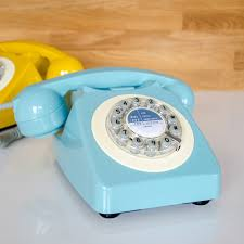 Old Fashioned Wall Mounted Phones Wild U0026 Wolf Retro Telephone In French Blue Retro Phones Cuckooland
