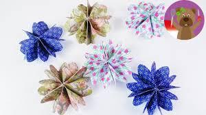 membuat hiasan bunga dari kertas lipat pembuatan dekorasi kamar tidur hiasan bunga kertas bentuk bunga