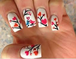50 romantic valentines day nail designs nail design ideaz