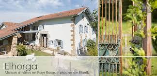 chambres d hotes pays basques ferme elhorga maison d hotes de charme proche de st jean de luz