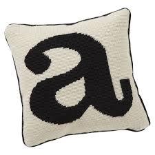 alphabet needlepoint pillow pbteen