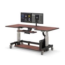 Adjustable Computer Desks Adjustable Height Rolling Computer Desk Afcindustries Com