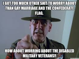Too Gay Meme - got too much other shit to worry about than gay marriage and the