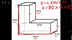 Volume Of Rectangular Prisms Worksheets Finding Volume Of Irregular Figures Youtube