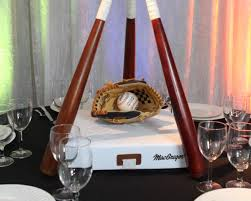 baseball centerpieces centerpieces sro events inc tarzana ca baseball