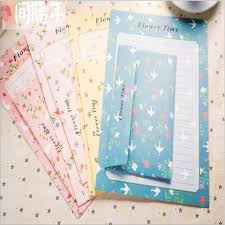 hello kitty writing paper online buy wholesale letter pad from china letter pad wholesalers cute rabbit floral flower letter pad paper with envelope 6 sheets letter paper 3 pcs