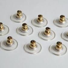post back earrings 20 comfort clutch earring back earnuts post earrings gold 12mm