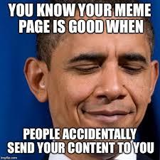 Know Yor Meme - image tagged in obama smirk imgflip