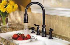 price pfister hanover kitchen faucet stainless steel hanover 2 handle pull kitchen faucet f 531