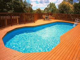 above ground pool stairs for your swimming safety and comfort