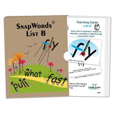 words cards snapwords list b teaching cards primer sight words child1st