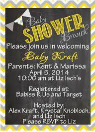 creative touch by krystal gray u0026 yellow baby shower