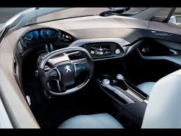peugeot cars concept car interior luxury car interiors pinterest car