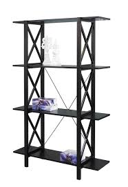 Sl Home Decor Amazon Com Linon Home Decor Anna Double Bookcase Kitchen U0026 Dining